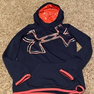 Youth Medium Under Armour UA Loose Coldgear Hoodie